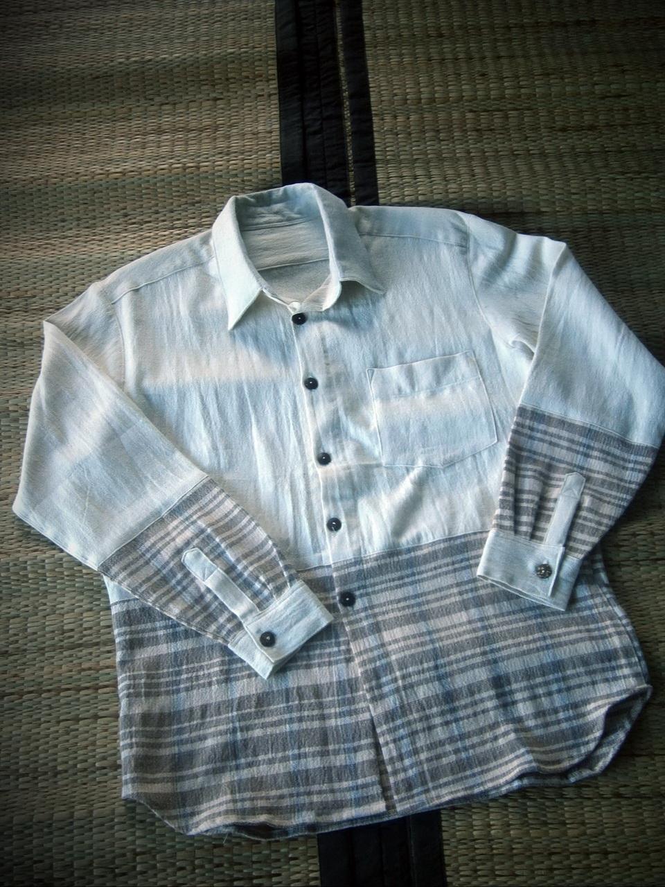 C 004-1 Handmade cotton น้ำมอญเสื้อผ้าฝ้าย