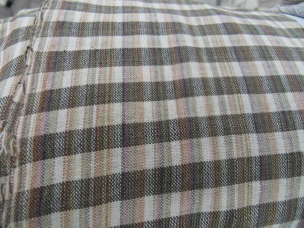Nammorn Weaving Cotton ผ้าฝ้ายทอมือย้อมสีธรรมชาติ น้ำมอญ  A034